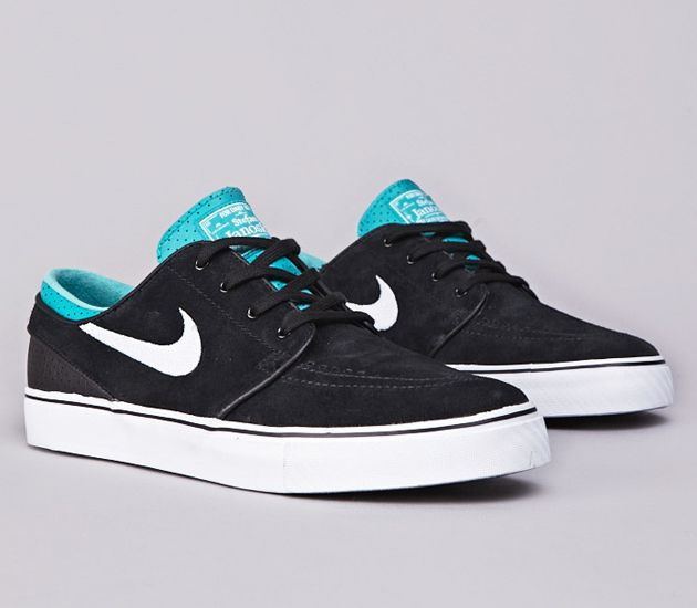 Nike SB Stefan Janoski Low-Black-White-Turbo Green
