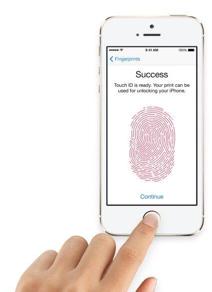 I phone 5s finger print locker