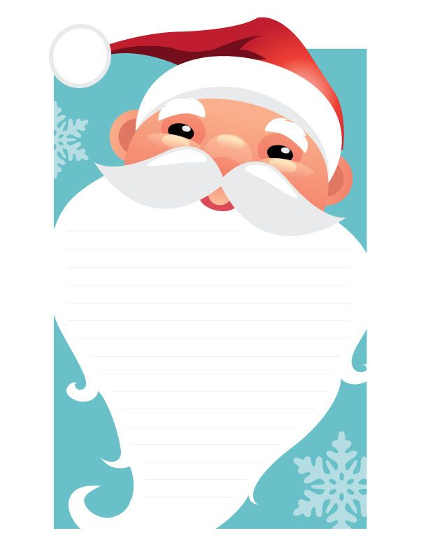 Best Santa Letter Images On   Free Printable