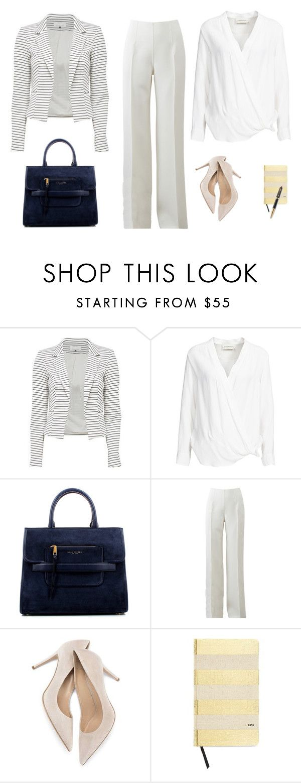 """""""Business casual inspiration"""" by monika1555 on Polyvore featuring By Malene Birger, Marc Jacobs, Michael Kors, Kate Spade and Parker"""