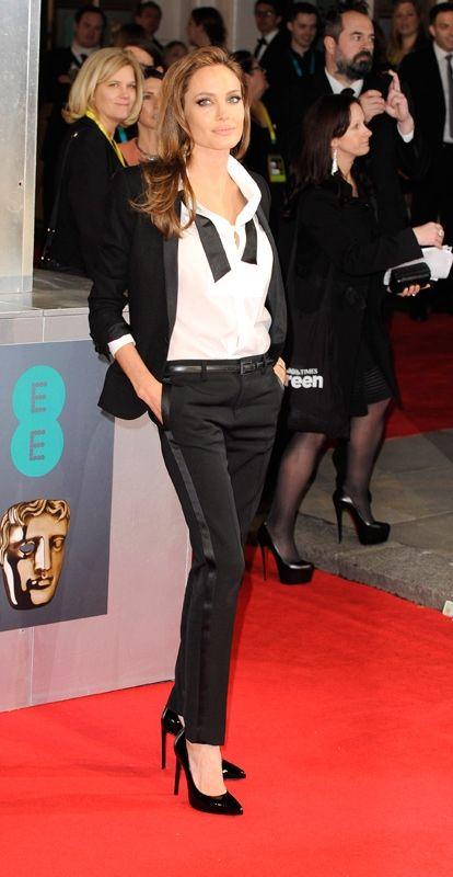 """Angelina Jolie at the """"2014 BAFTA Awards"""""""