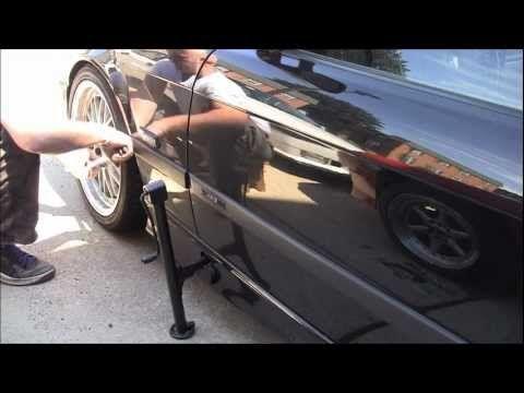 BMW 3 series front brakes replacement DIY e36 e46 brake change bimerok