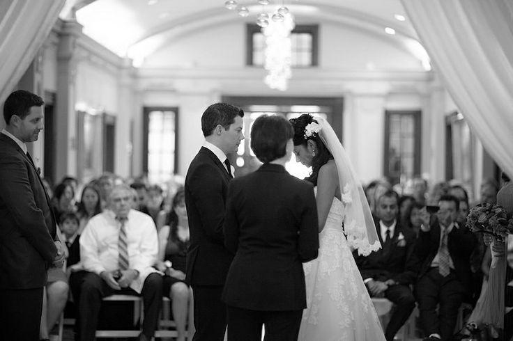 Vancouver Club Wedding Ceremony lobby