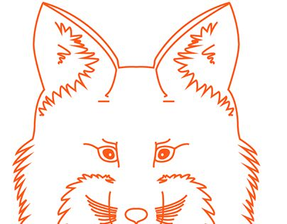 """Check out new work on my @Behance portfolio: """"Red Fox illustration"""" http://on.be.net/1HYt8yP"""