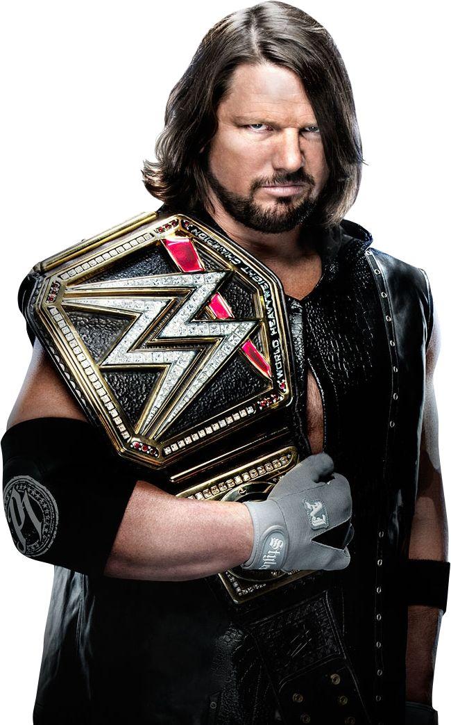 AJ Styles WWE Champion TLC 2016 PNG by AmbriegnsAsylum16 on DeviantArt