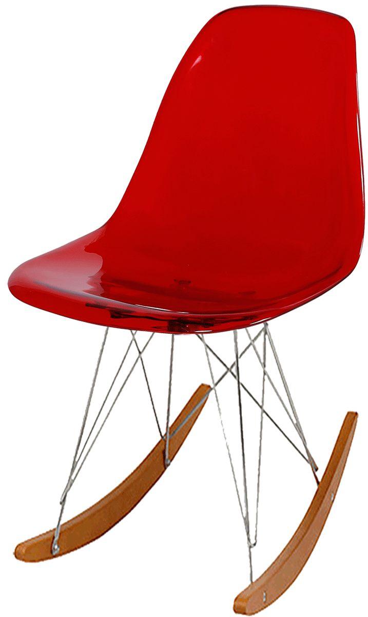 Cadeira RSR Eames Policarbonato Vermelha;Cadeira RSR Eames Policarbonato Branca;Cadeira RSR Eames Policarbonato Preta;Cadeira RSR Eames Policarbonato Transparente
