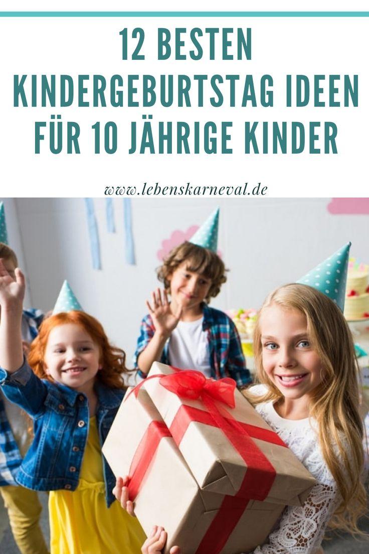 12 Besten Kindergeburtstag Ideen Für 10 Jährige Kinder in