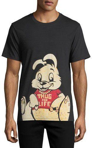 Eleven Paris Thug For Life Bunny T-Shirt Neiman Marcus | GiftHead