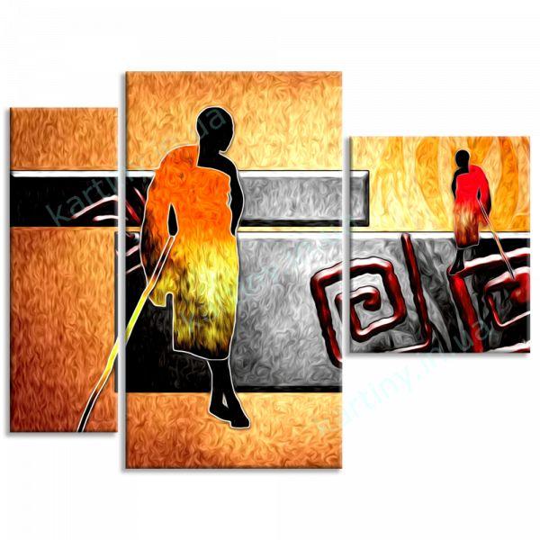 Картина Африканские мужчины