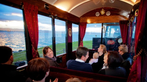 Fun family tour aboard the Hawke's Bay Express, Napier, NZ