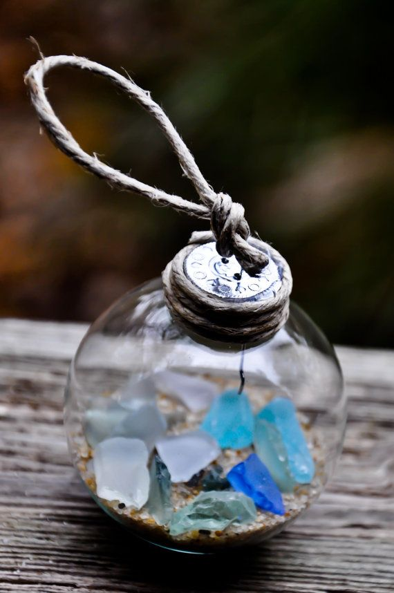 Beach Glass Ornament