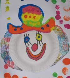 clown cirque école maternelle