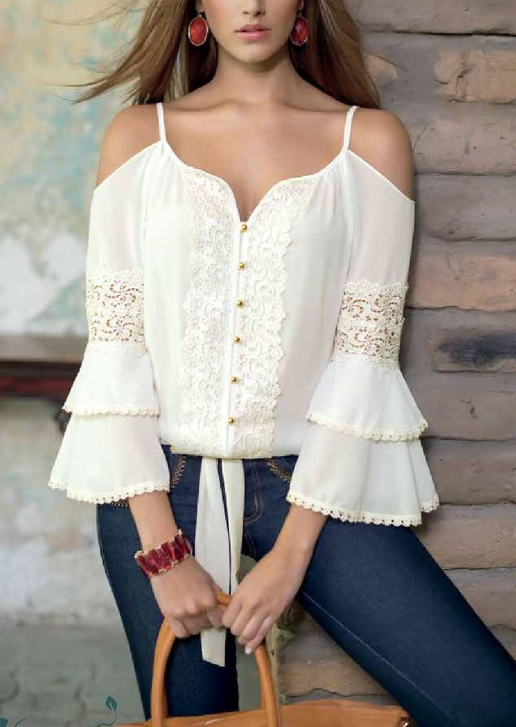 Beautiful blouse.