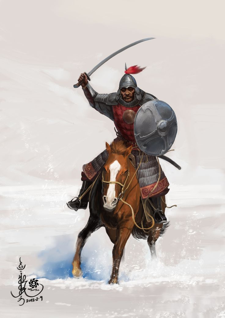 Mongol Cavalry - Golden Horde by HappyMorningStar.deviantart.com on @deviantART