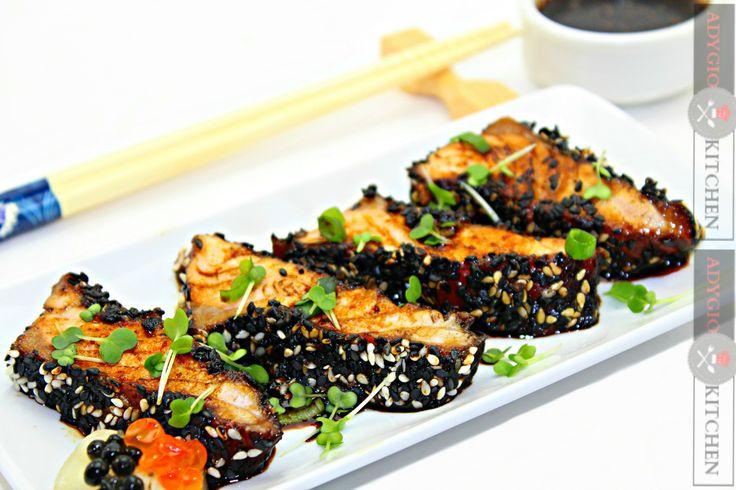 Reteta somon Tataki - reteta japoneza Adygio Kitchen #adygio #japanese food #somon tataki #salmon tataki