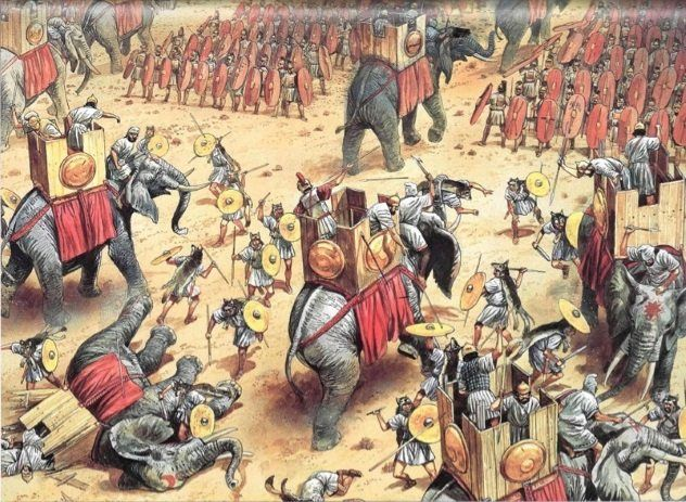 10 Ancient Battles That Ended Empires Ancient War Punic Wars