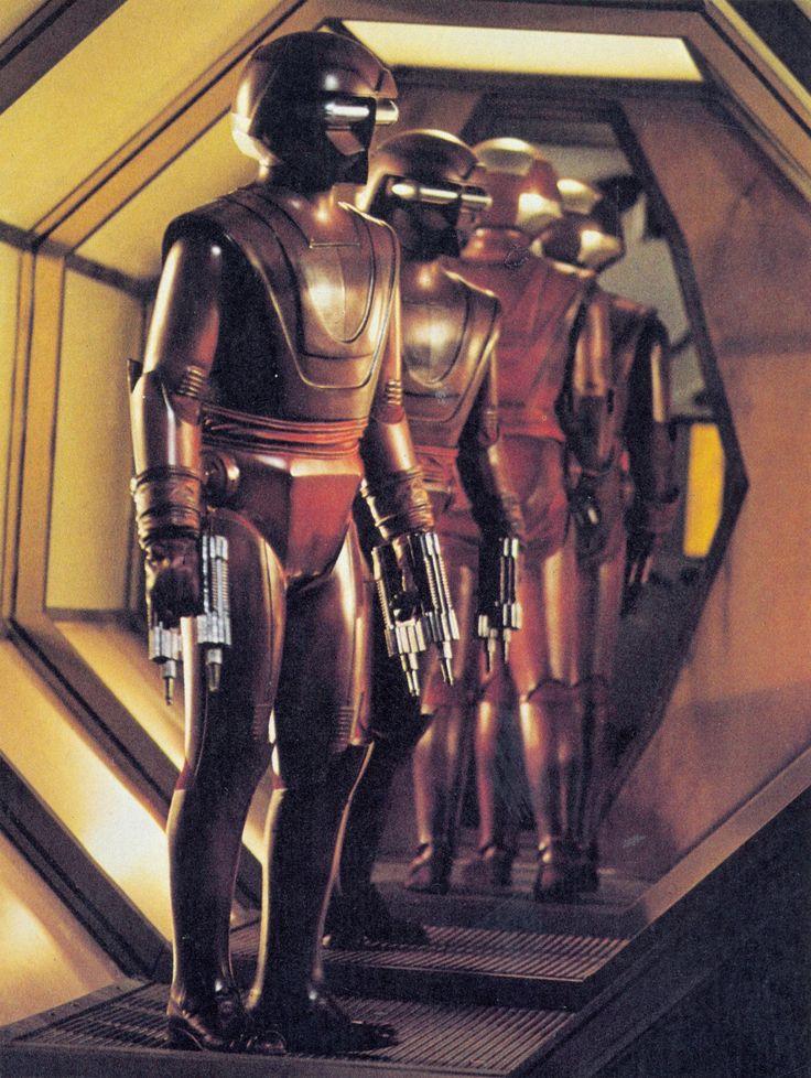 Sentry Robots - The Black Hole (1979)
