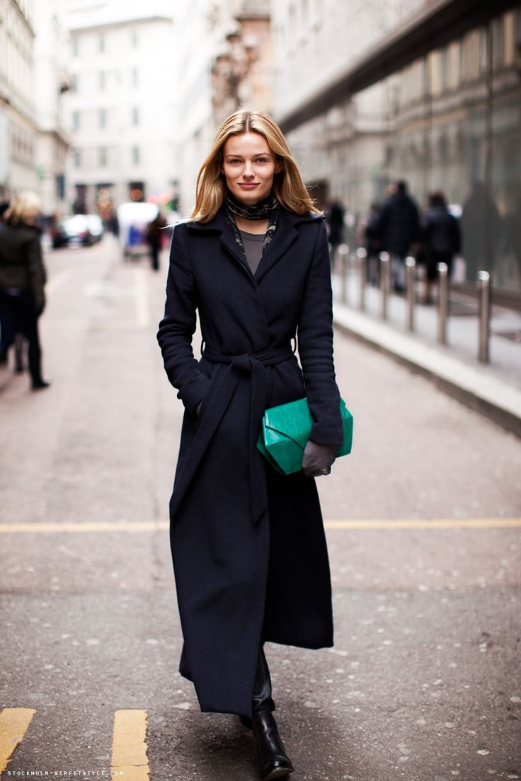 81 best Ankle-Length Coats images on Pinterest | Street chic, Long ...
