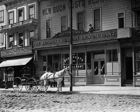 North Beach - By 1869 Frederick and his family moved west, settling in San Francisco's North Beach.  Photo by J.B. Monaco