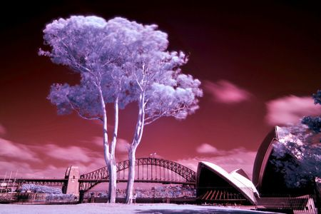 Interior Design and Home Decoration Artwork from Art Australia - buy this original signed print in 3 sizes. Outback Sydney by David Rennie available via http://www.art-australia.com/outback-sydney-by-david-rennie/