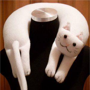 Cat travel pillow