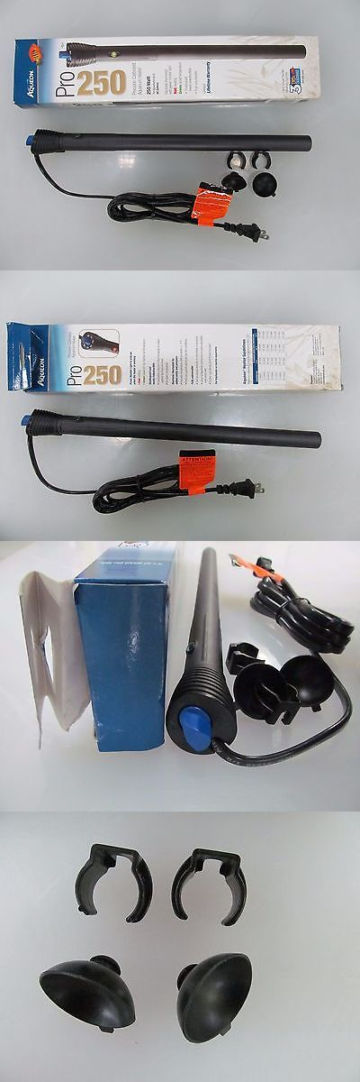 Heaters and Chillers 177799: Aqueon Pro 250 Series Precision Calibrated Aquarium Heater 250W #06109 BUY IT NOW ONLY: $34.95