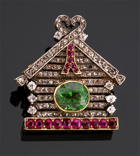 house of bolin jewelry | ... brooch. Rosecut diamonds and rubies. W.A. Bolin, Cheryl Marie Cordeiro