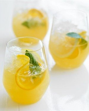 Lemon Ginger Cider Spritzer
