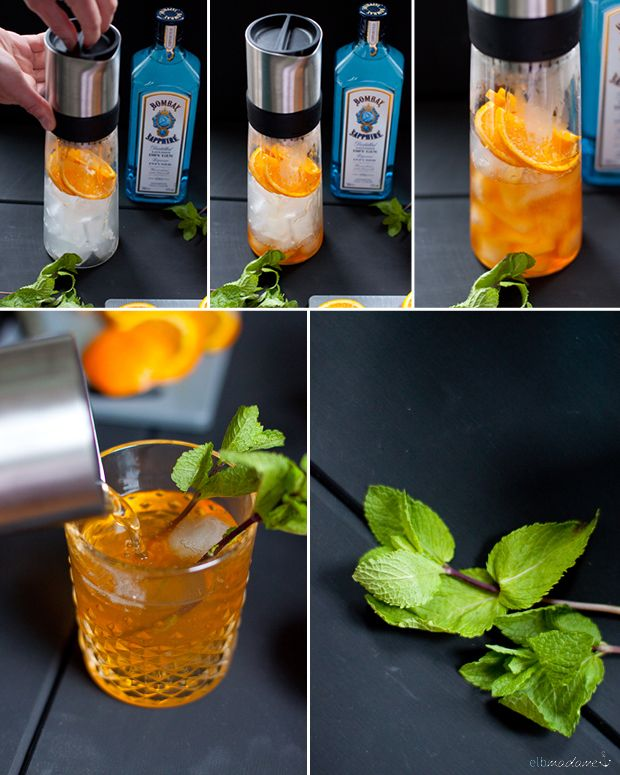 Summer Cocktail with Tea http://elbmadame.de/erfrischende-sommer-cocktails-samova/ #tea-jay