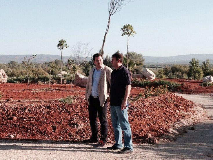 Villanueva de la Reina convierte en ecoparque una antigua escombrera junto al Guadalquivir