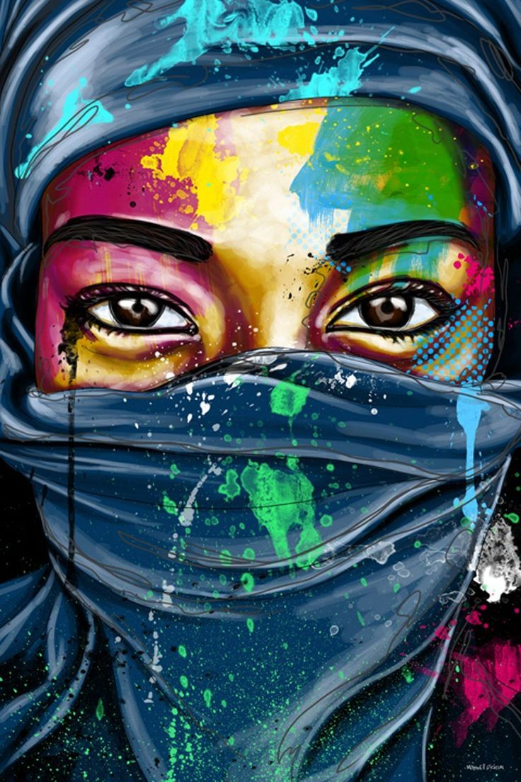 "Amazon.com: Maxwell Dickson ""Windows to the World"" Wall Art Canvas Print Pop Art Graffiti Artwork: Crayon Drawings"