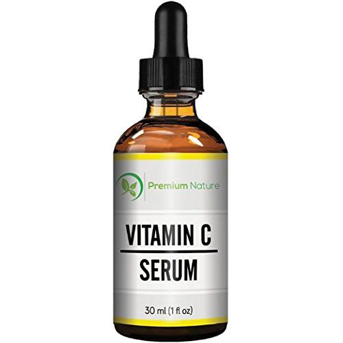 Premium Nature Vitamin C Serum 20% Vitamin C Super Strength Supplement with Hyaluronic Acid for Skin, Face and Body, Anti Aging, Hydrating and Skin Repair 1 Oz Clear - http://best-anti-aging-products.co.uk/product/premium-nature-vitamin-c-serum-20-vitamin-c-super-strength-supplement-with-hyaluronic-acid-for-skin-face-and-body-anti-aging-hydrating-and-skin-repair-1-oz-clear/