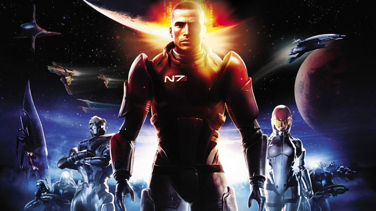 Mass Effect Game Movie (All Cutscenes)