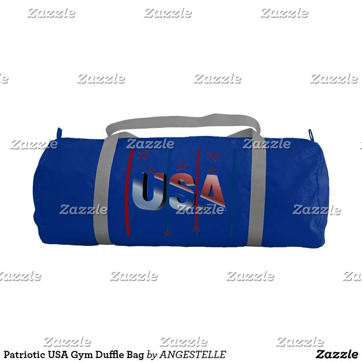 Patriotic USA Gym Duffle Bag