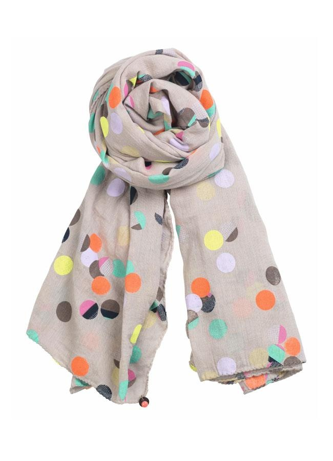 polka dot party scarf.
