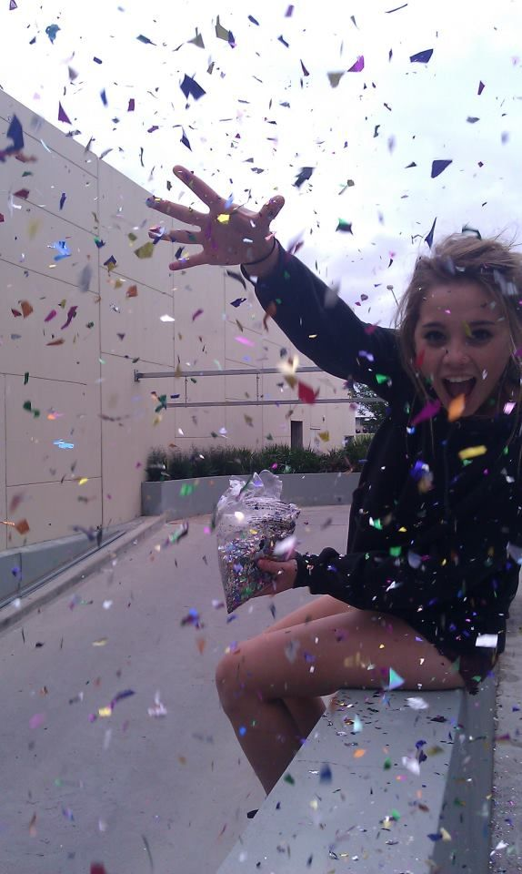 For spring break, while everyones in mexico, or florida, or anywhere not in Michigan, living it up, partying it down, whatever, I shall buy a ton of confetti! , sit on a bench or some place in public, and THROW IT EVERYWHERE! That's how I'll be spending SPRING BREAK! Who's with me??? REPIN IF YOUR STUCK AT HOME TOO! @Carrie LeBoeuf @Katie Bell