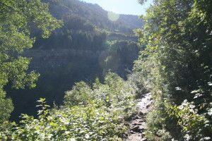 Scout Falls, American Fork Canyon, UT