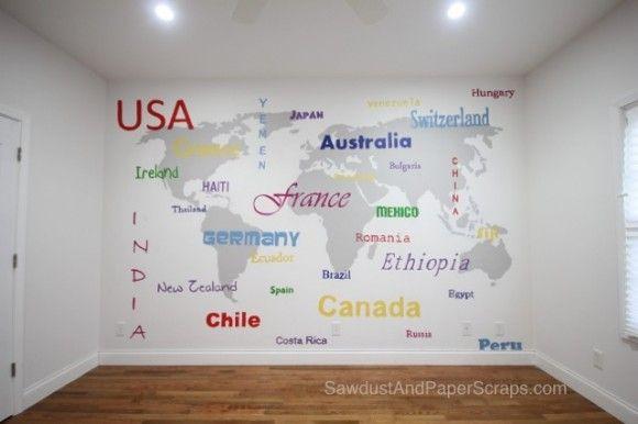 diy map art - Google Search