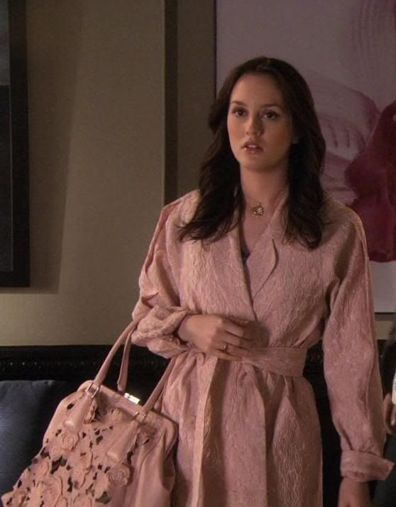 Blair Waldorf in Erin Fetherston (3.21 Ex-Husbands and Wives)