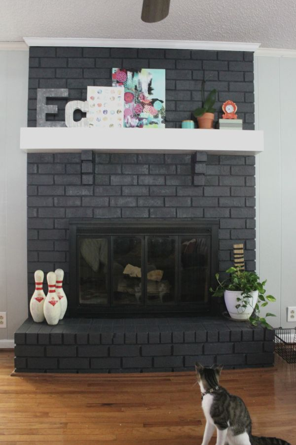 Best 25 Painting A Fireplace Ideas On Pinterest Brick