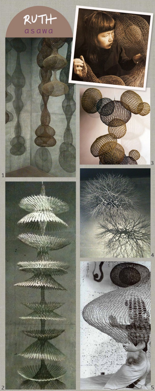 pleased to meet you, ruth asawa