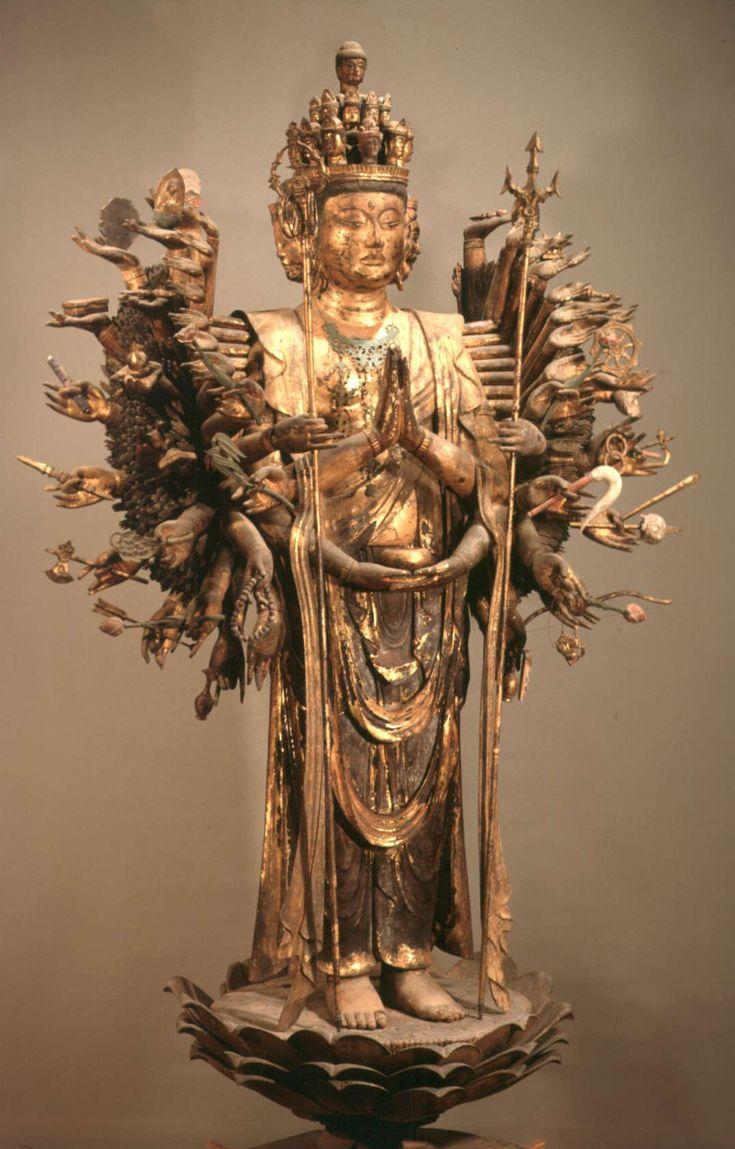 木造千手観音菩薩立像
