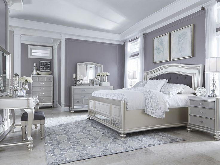 Grau Schlafzimmer Set
