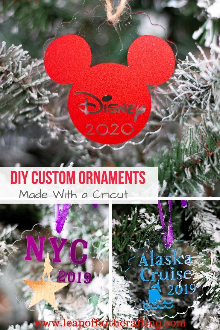 2020  Ornament Christmas Vacation 2019 Christmas Vacation Ornaments: DIY Cricut Ornaments!   Leap of