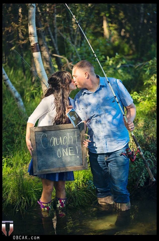 25  best ideas about fishing engagement photos on