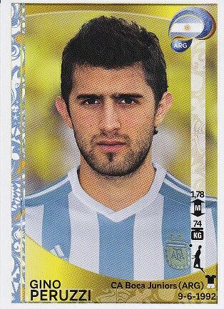 Gino Peruzzi of Argentina. 2016 Cops America card.