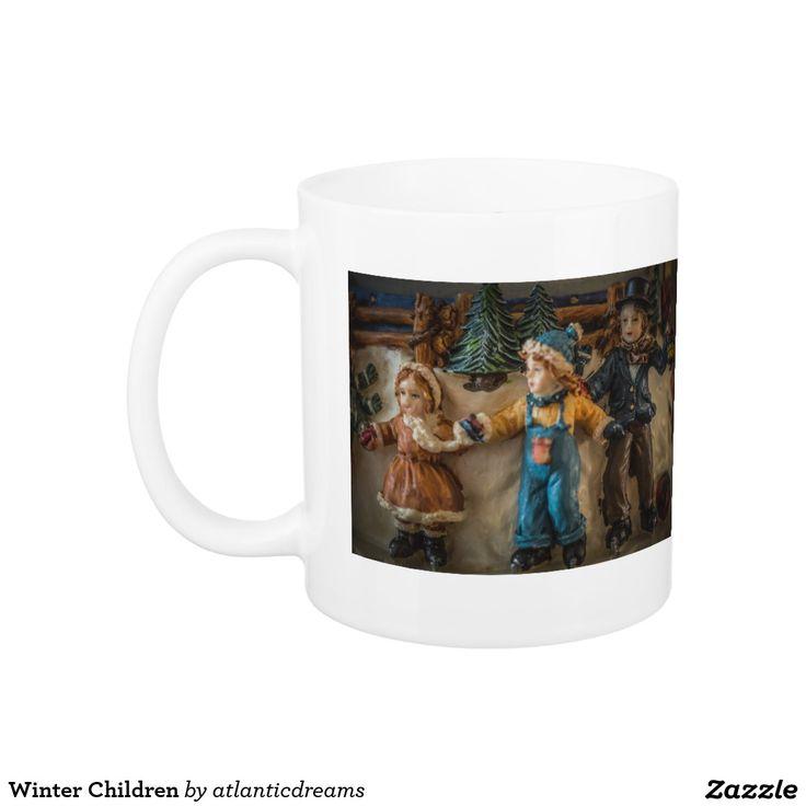 Winter Children Classic White Coffee Mug