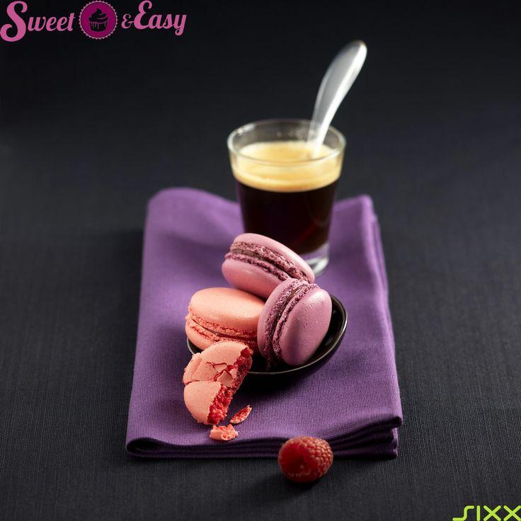 Französische Spezialitäten: Erdbeer- und Himbeer - #Macarons