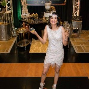 Great Gatsby decor and event styling