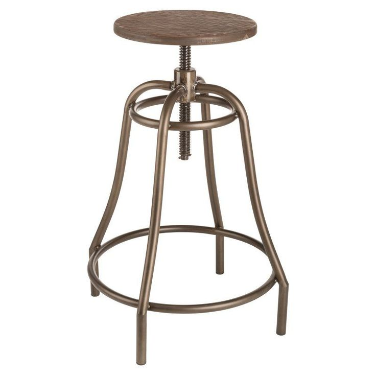 Sunpan Trading Collette Adjustable Bar Stool - 100762